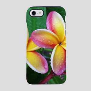 Maui Plumeria Tropical Flowe iPhone 8/7 Tough Case